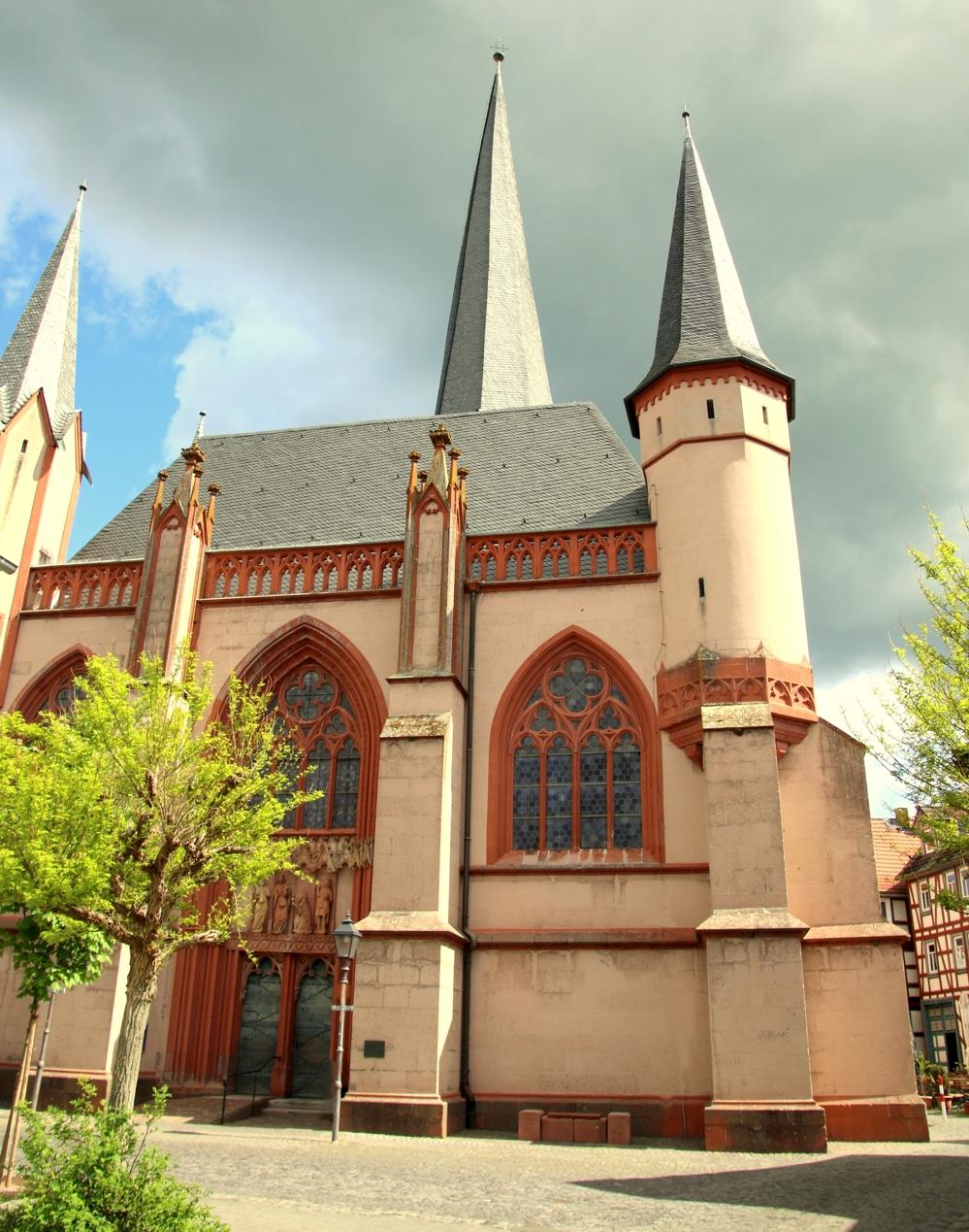 Liebfrauenkirche Schotten, Westseite