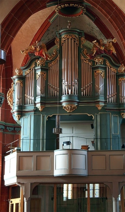 Orgel in Schotten