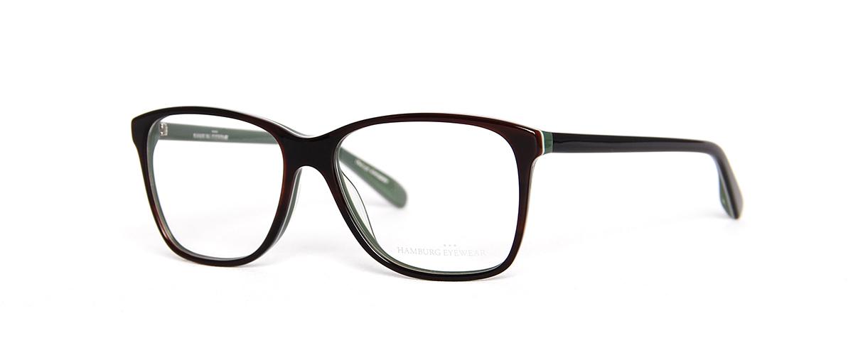 Hamburg Eyewear Bosse 10 dunkelbraun, dunkelgrün
