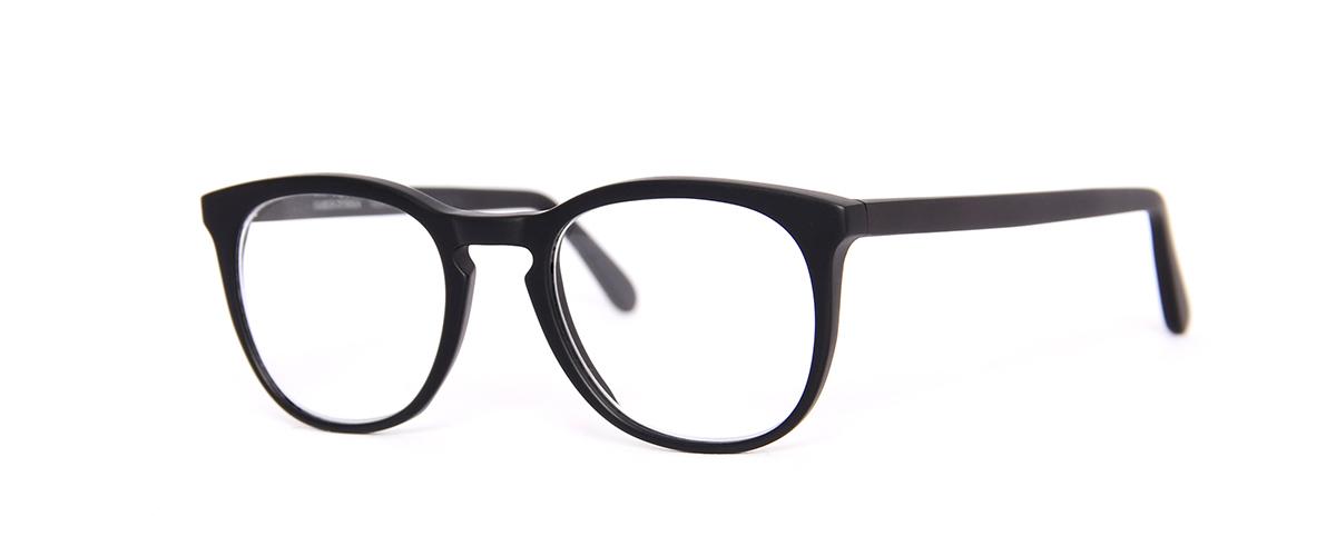 Hamburg Eyewear Buurmeester Amandus Abendroth 8M schwarz, matt