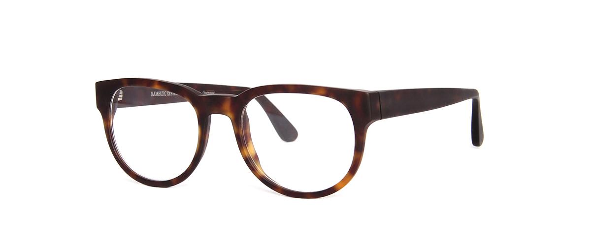 Hamburg Eyewear Buurmeester Friedrich von Graffen  185M dunkel-havanna, matt