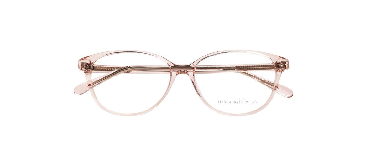 Hamburg Eyewear Finja 57 zartrosa, transparent