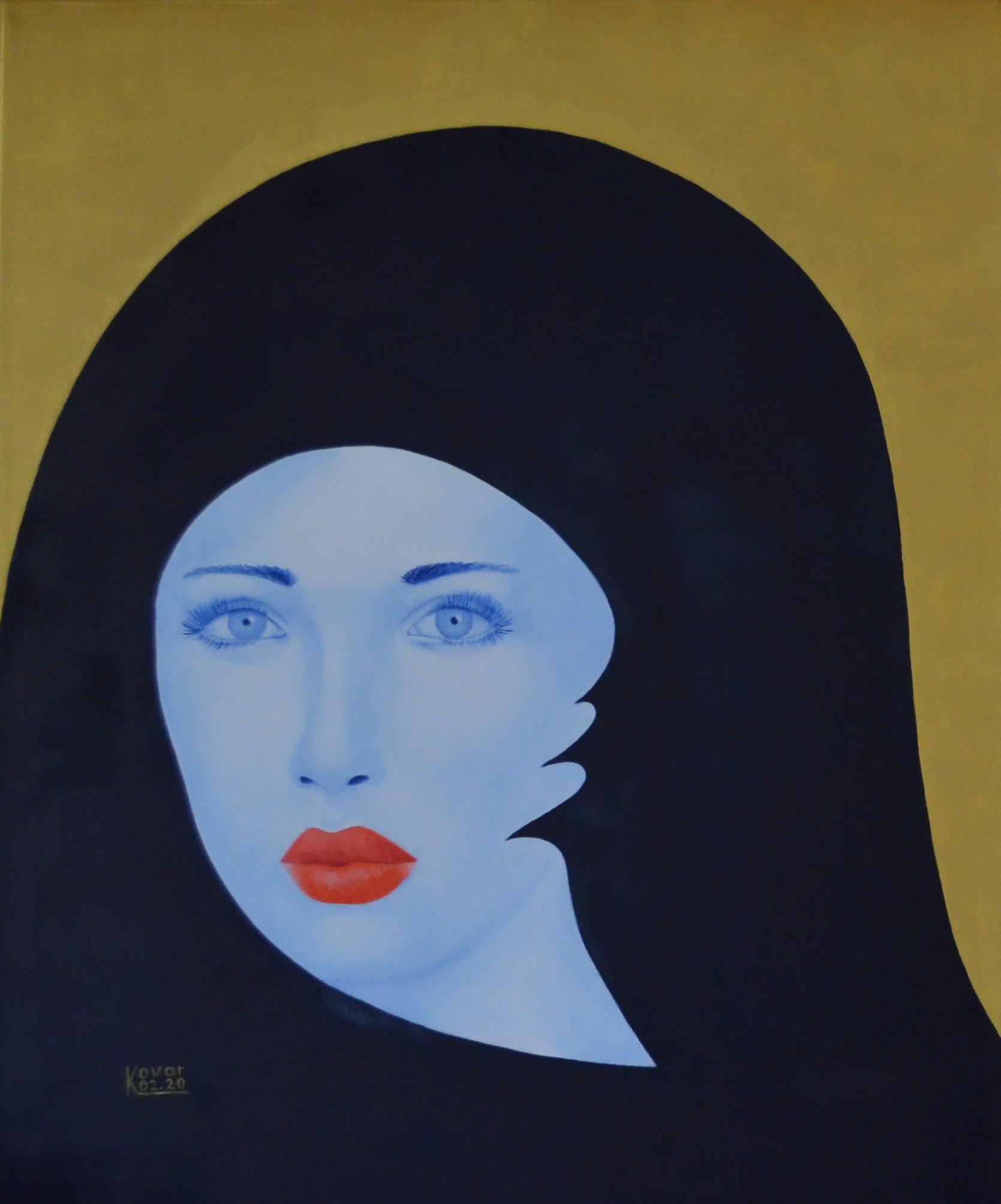 Märtyrer / Martyr,  Öl  auf Leinwand, 50 x 60 cm, 2020, Oil on canvas.