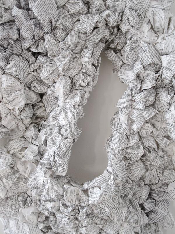 """""""Entwurf"""", Detailansicht, 2017"""