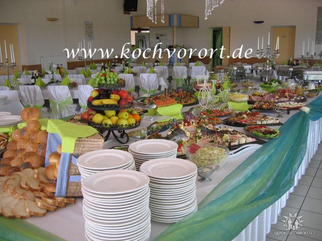 Buffet Swadba Koch vor Ort russische Hochzeit