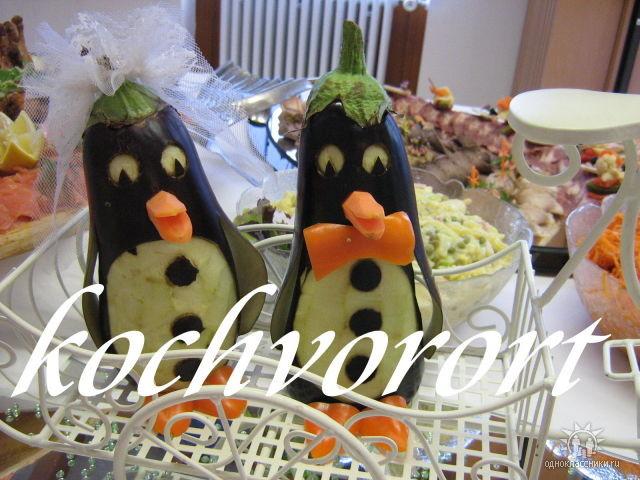 Braut und Bräutigam Koch vor Ort russische Hochzeit