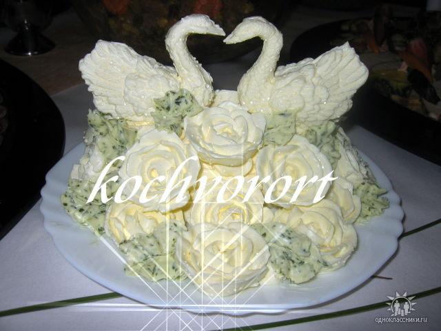 Schwan Butter Koch vor Ort russische Hochzeit