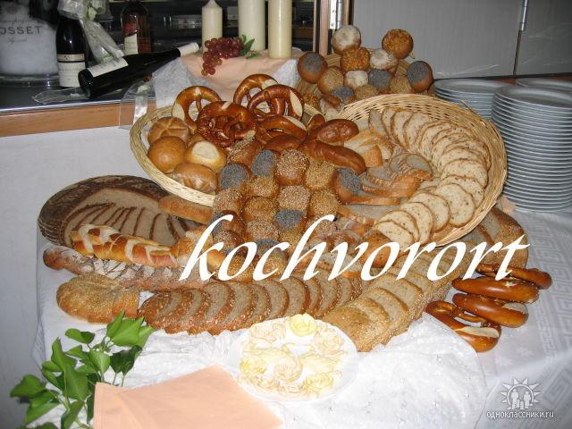Brotbüffet Koch vor Ort russische Hochzeit