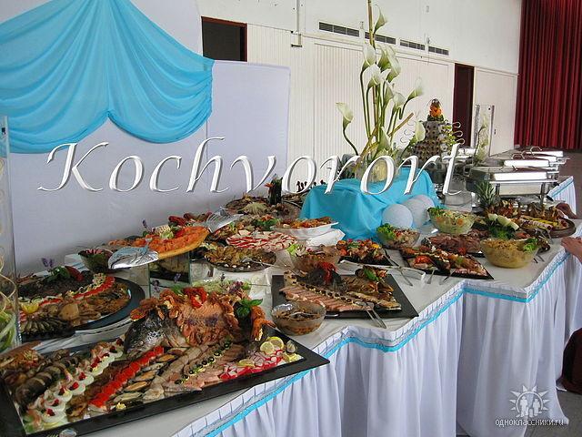 russische Hochzeit Koch vor Ort