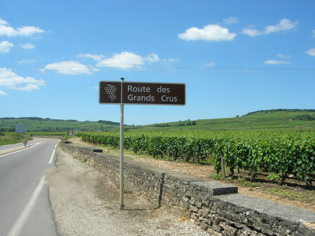 Jalonnement de la route des Grands Vins de Bourgogne (21-71)