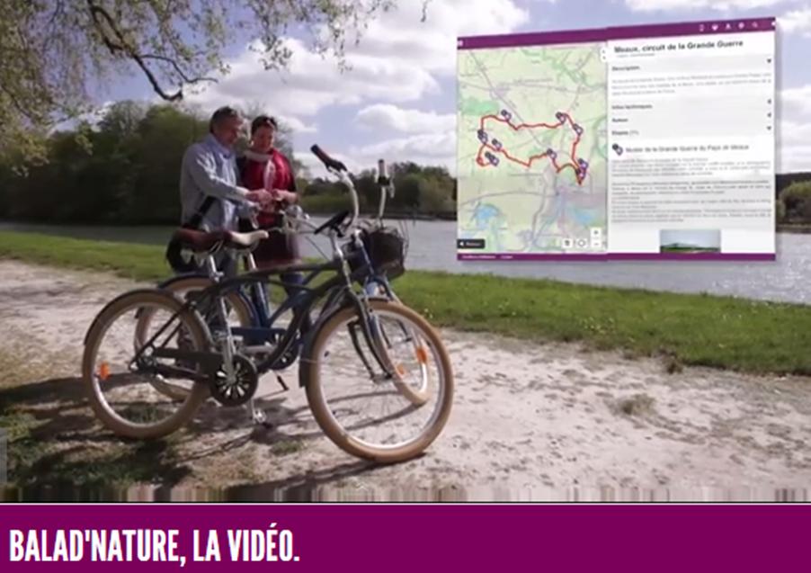 Itinéraires VTC Balad'nature de Seine-et-Marne (77)