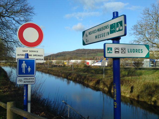 Véloroute des Boucles de la Moselle (54)