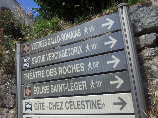 Signalisation d'information locale d'Alise Ste-Reine (21)