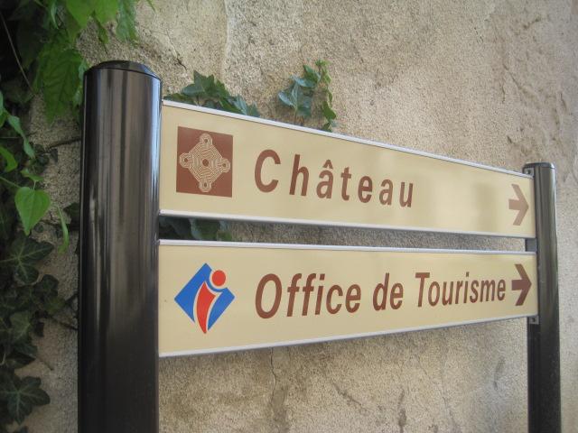 Signalisation touristique autour de la véloroute Indre à Vélo (36)
