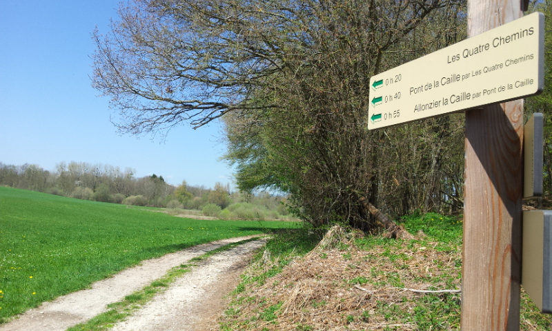 Signalétique de randonnée de Haut Mâconnais (71)