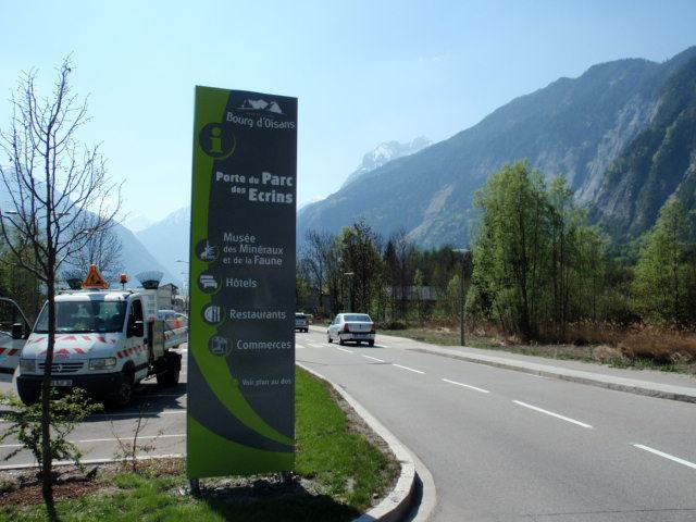 Signalisation d'information locale de Bourg-d'Oisans (38)
