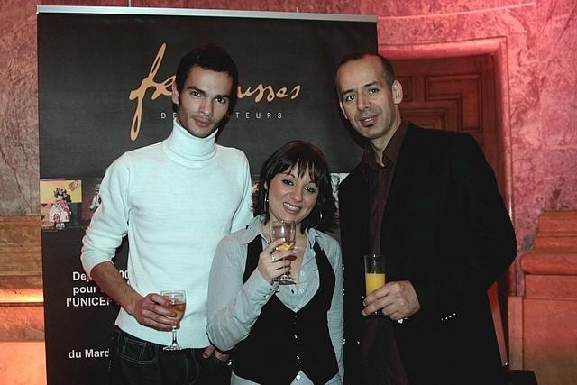 SAHLA RAHOUI (à droite)