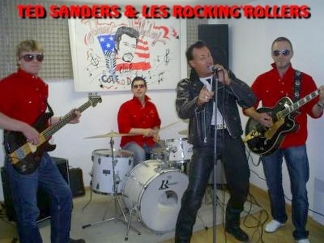 LES ROCKING'ROLLER'S & TED SANDERS