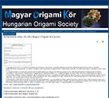 Hungarian Origami Society(ハンガリー)