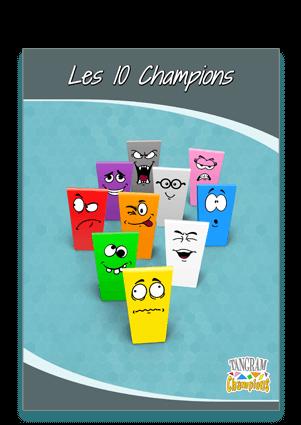 Tuto N°5 : la réalisation des pions - https://www.tangram-champions.com