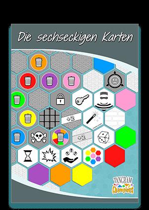 4. Tutorial - Die Anfertigung der sechseckigen Karten - https://www.tangram-champions.com