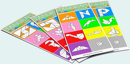 4 cartes Tangram - https://www.tangram-champions.com