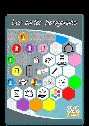 Tuto N°4 : la réalisation des cartes hexagonales - https://www.tangram-champions.com