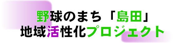 野球のまち「島田」地域活性化プロジェクト