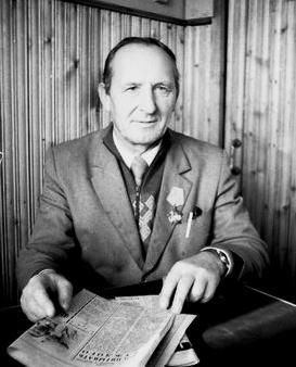 Яков Григорьевич Цыганюк, ВОЭЗ, сварщик тракторного цеха