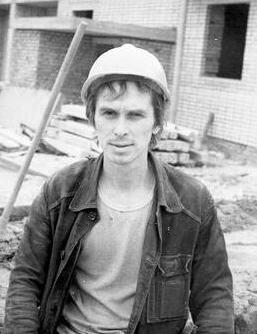 Евгений Круглов - плотник-бетонщик на доме №114