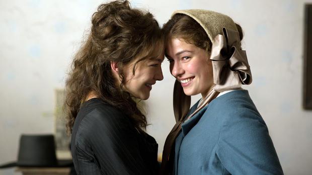 """Perücke Hannah Herzsprung """"Die geliebten Schwestern"""" Maskenbild Tatjana Krauskopf / Nannie Gebhardt-Seele"""