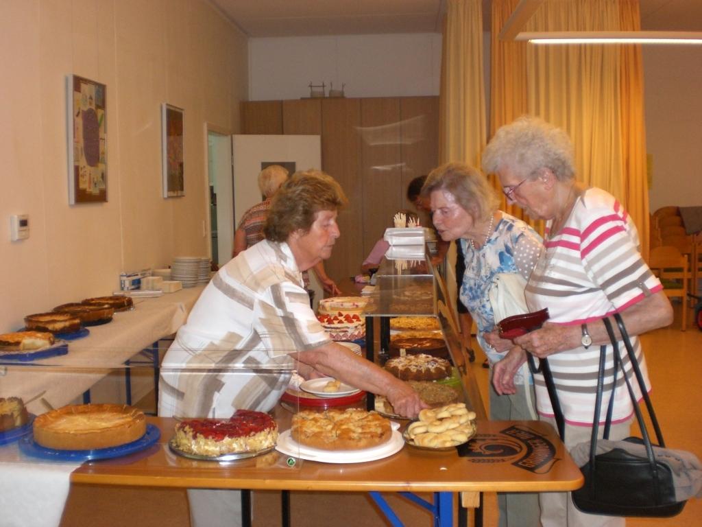 Unsere Seniorenfrauen sind ein eingespieltes Team