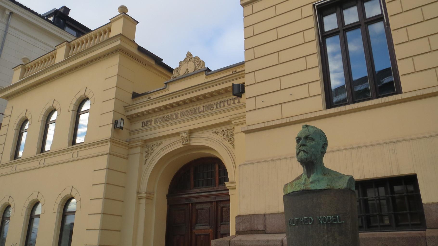 Nobelinstitut in Oslo - zuständig für den Friedensnobelpreis.