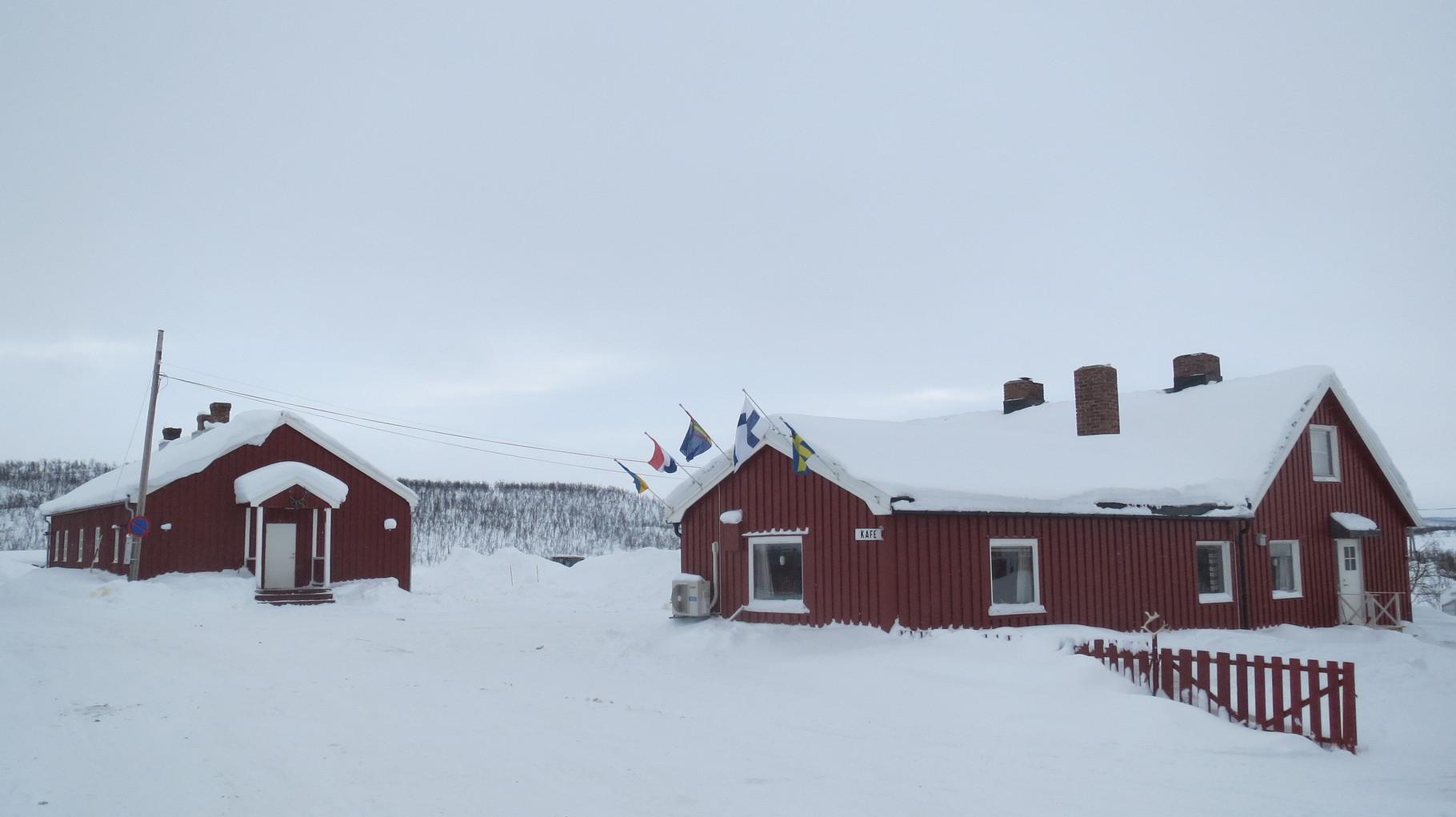 ... Suolovuopmi, einer alten Wegstation 50 km im Landesinneren.