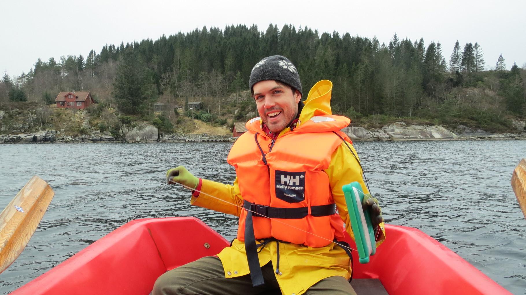 ... aber unser Fischzug bliebt leider erfolglos. Mit guter Laune ging es dann am Nachmittag zurück nach Stavanger!