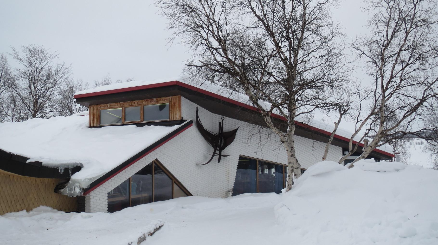 ... und irgendwann auch das Haus künstlerisch ausbauten.