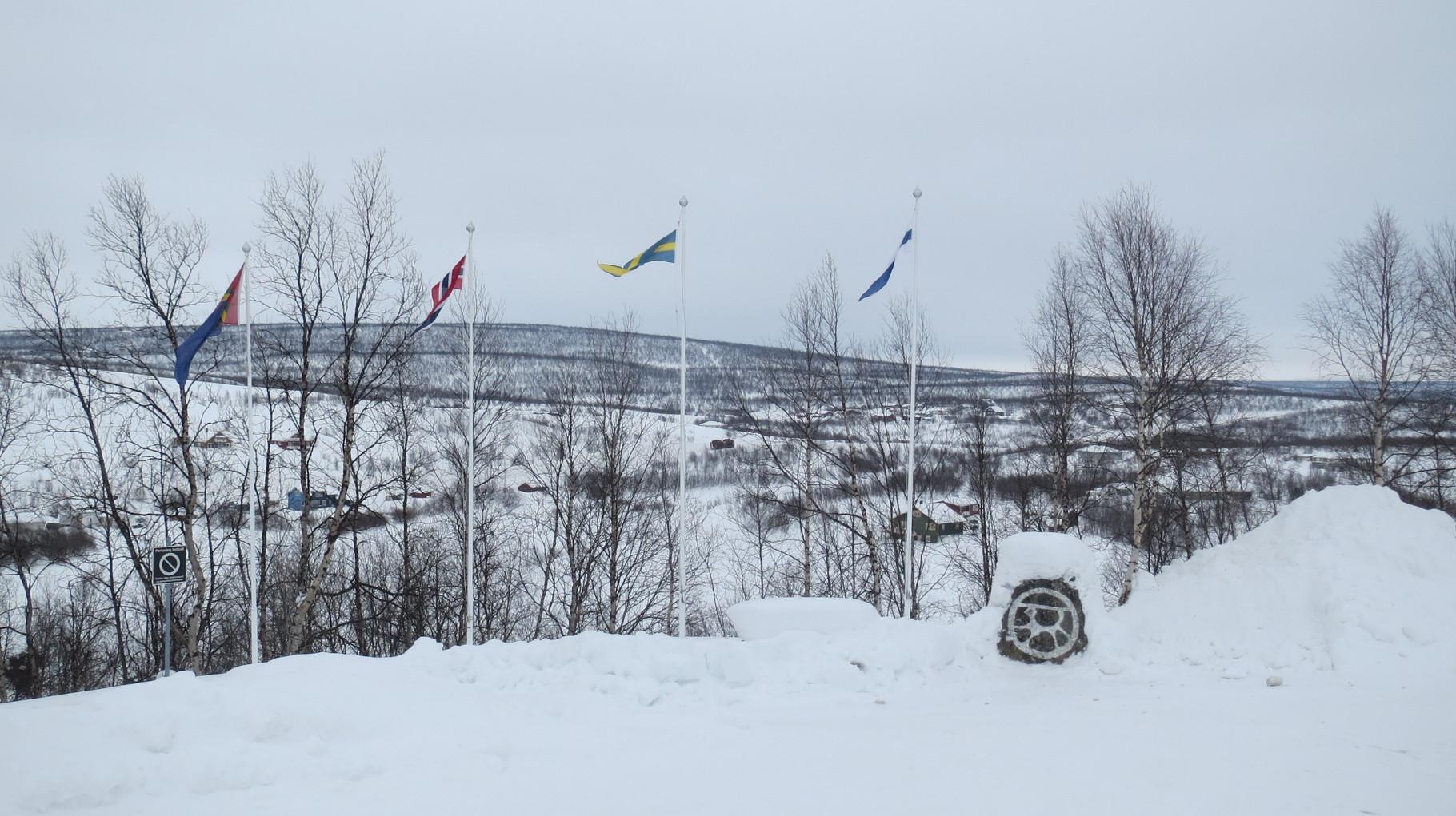 Am nächsten Morgen geht es weiter ins Landesinnere in die Sami-Siedlung Kautokeino.