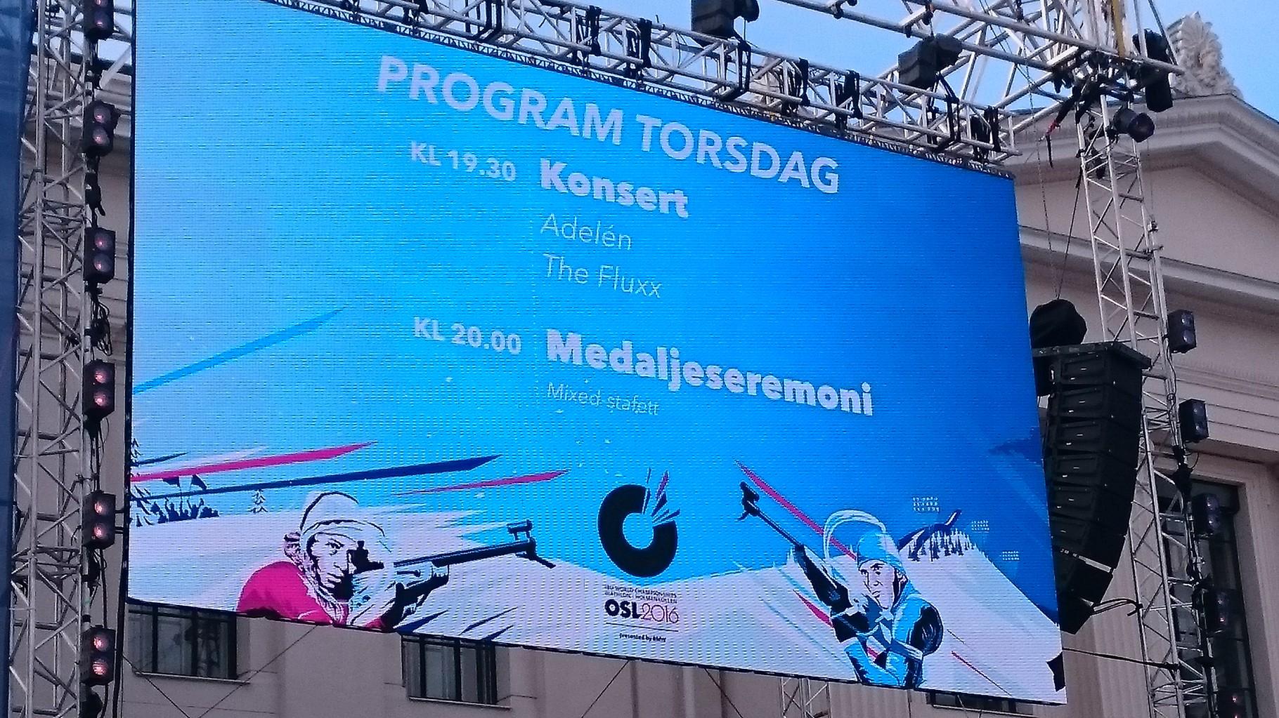 Biathlon-WM in Holmenkollen - Willkommen in Norwegen!