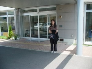 高知県土佐清水病院に丹羽先生を訪ねて