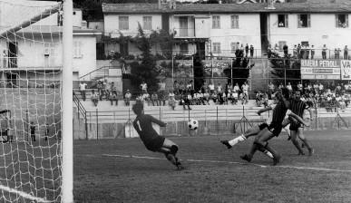 78': Magaraggia realizza il gol partita
