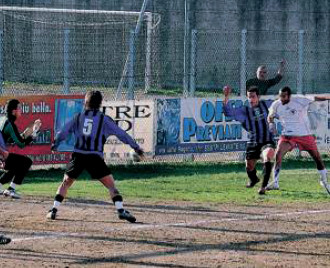 40': Dell'Orzo insacca il 2° gol