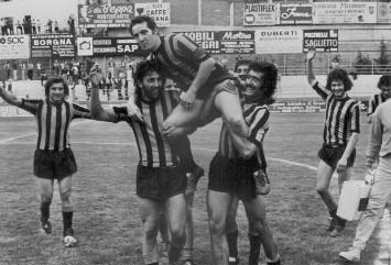 Capitan Turra portato in trionfo: l'Imperia accede alla Coppa Italia nazionale