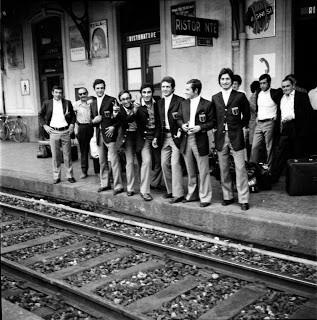 I neroazzurri partono dalla stazione di Porto Maurizio alla volta della Sardegna