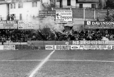 """I """"Los aficionados Ultras"""" neroazzurri"""