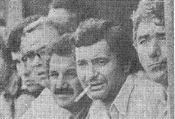Il presidente Bonacina in panchina al fianco di Baveni
