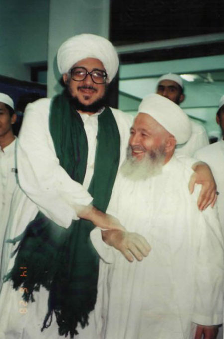 Seyyid Muhammed Alawi ile Mahmud efendi hz.leri