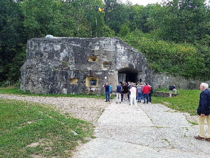 Ingang tot het Fort Eban Emael