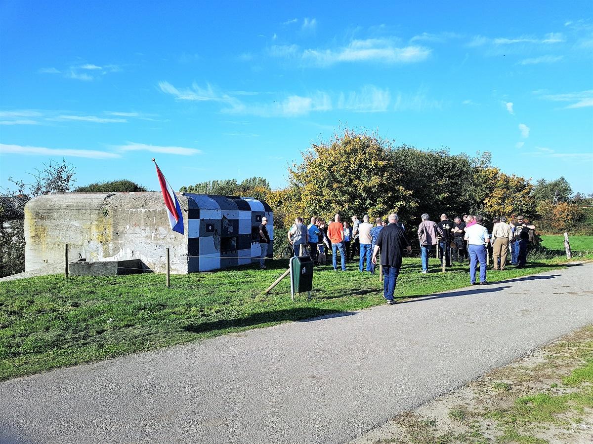 Een van de Kazematten in Katwijk aan de Maas