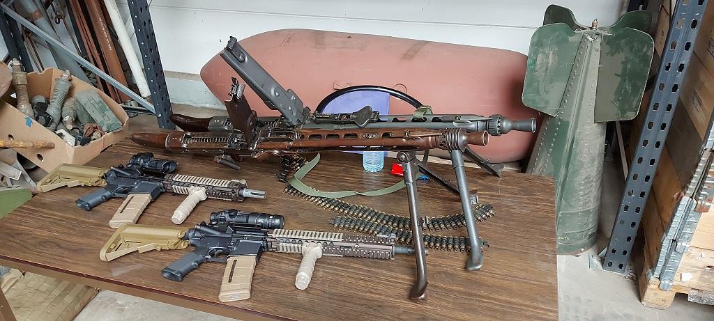 Duitse MG40 tot de moderne Dimaco. Van oud-tot-nieuw