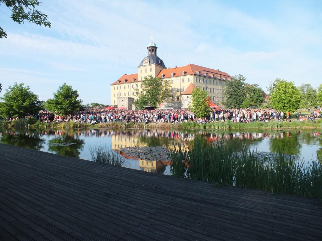 Eröffnung im Schlosspark